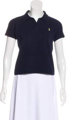 Ralph Lauren Black Label Knit Short Sleeve Sweater