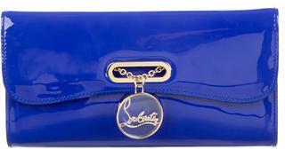 Christian Louboutin Christian Louboutin Patent Leather Riviera Clutch