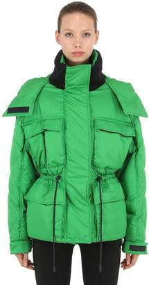 Sportmax Oversized Nylon Down Jacket