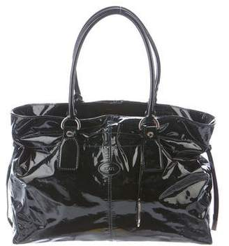 Tod's Patent Leather Tote