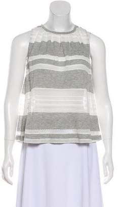 Band Of Outsiders Striped Sleeveless Top w/ Tags