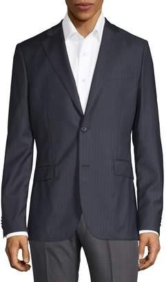 J. Lindeberg Men's Striped Wool Blazer