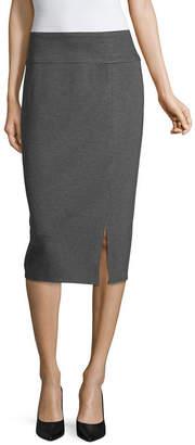 WORTHINGTON Worthington Ponte Knit Pencil Skirt