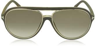 Tom Ford SERGIO FT0379 Aviator Sunglasses