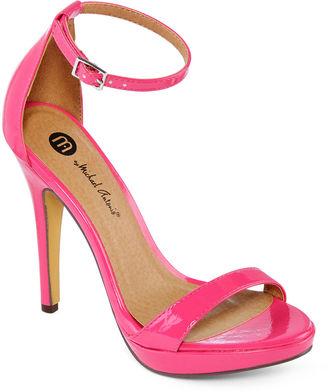 MICHAEL ANTONIO Michael Antonio Lovina Ankle-Strap Platform Sandals $50 thestylecure.com