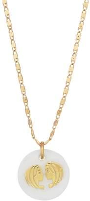 Lauren Conrad Mother-of-Pearl Zodiac Pendant