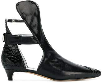 Givenchy cut out ankle boots
