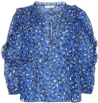 Ulla Johnson Lillian cotton and silk top