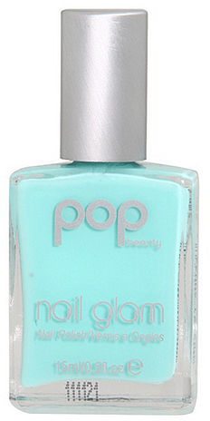 POP Beauty Nail Glam Nail Polish, No. 63 Mint Magic 0.5 oz (15 ml)