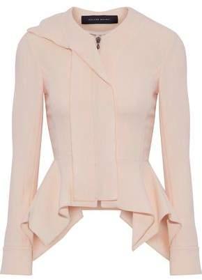 Roland Mouret Lavenden Wool-Crepe Peplum Jacket