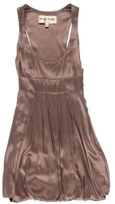 Jasmine Di Milo Sleeveless Silk Dress