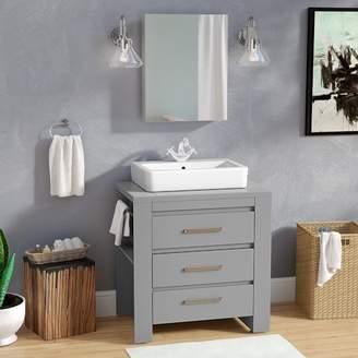 "Latitude Run Kinchen 30"" Single Bathroom Vanity Set Base"