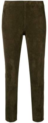 Vince high-waist fitted trousers