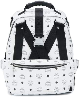 MCM Jemison Visetos backpack with belt bag