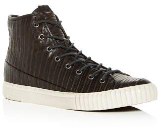 John Varvatos Star USA Bootleg Men's Leather High-Top Sneakers