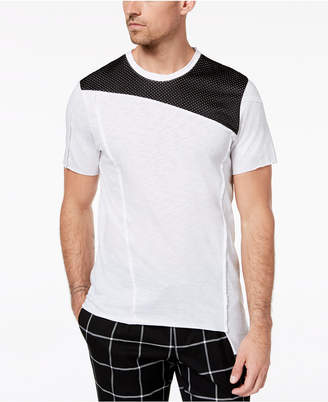 INC International Concepts I.n.c. Men's Colorblocked Mesh T-Shirt