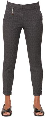 Incotex Kayle Cotton Jacquard Trousers