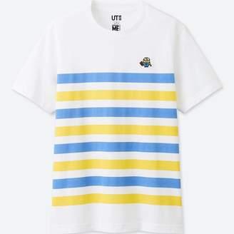 Uniqlo MEN MINIONS Short Sleeve Graphic T-Shirt