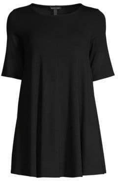Eileen Fisher Elbow-Sleeve Tunic