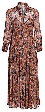 IRO Women's Maddie Printed Shirtdress