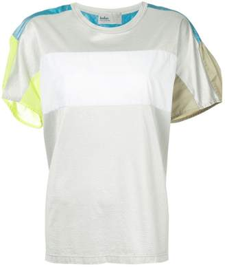 Kolor colour block panelled T-shirt