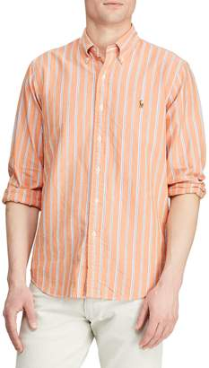 Polo Ralph Lauren Classic-Fit Striped Oxford Button-Down Shirt