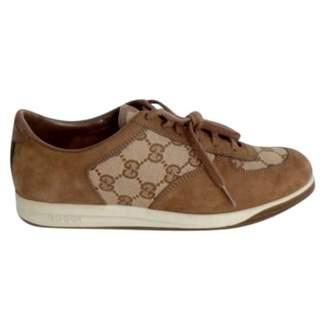 Gucci Cloth trainers