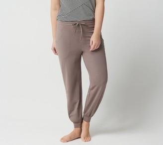 Anybody AnyBody Tall Cozy Knit Jogger Pants w/ Seaming Detail