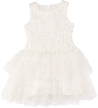 Charabia Special Occasion Tulle Dress, Size 4-8