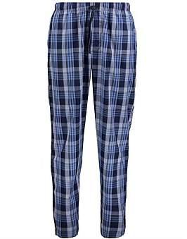 AU Essentials Blue Check Cotton Pyjama Pants