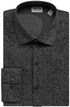 Kenneth Cole Reaction Slim Printed Button-Down Shirt
