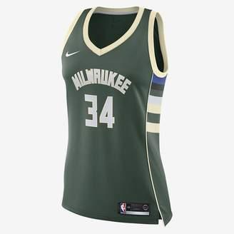 Nike Giannis Antetokounmpo Icon Edition Swingman (Milwaukee Bucks) Women's NBA Connected Jersey