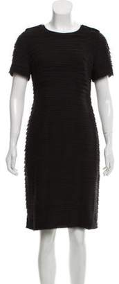 Burberry Silk Raw-Edge Dress Black Silk Raw-Edge Dress