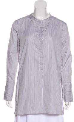 Isabel Marant Striped Long Sleeve Top
