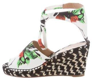 Proenza Schouler Printed Espadrille Wedges w/ Tags