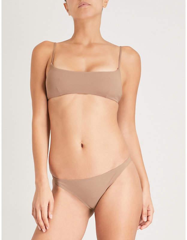 Marina scoop-neck bikini top