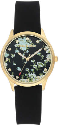 Juicy Couture Woman Juicy Couture, 1074FLBK Silicon Strap Watch