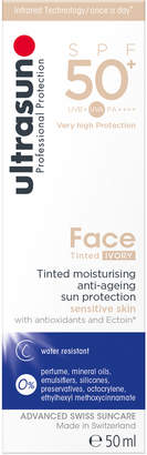 Ultrasun SPF50+ Tinted Face Sun Cream (Various Shades)