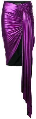 Alexandre Vauthier asymmetric knot skirt