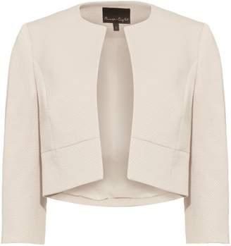 Next Womens Phase Eight Cream Tara Textured Jacket