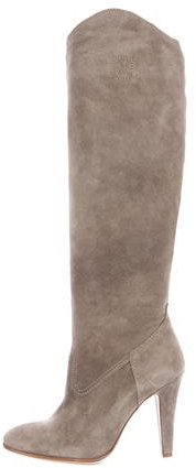Moschino Moschino Suede Knee-High Boots