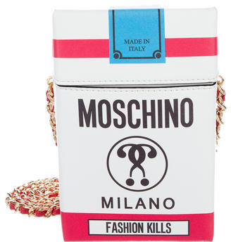 Moschino Moschino Fashion Kills Cigarette Bag w/ Tags