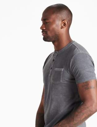 Lucky Brand MILITARY HENLEY TEE