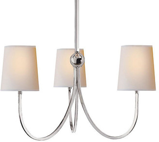 Thomas O'Brien For Visual Comfort Reed Chandelier - Polished Nickel