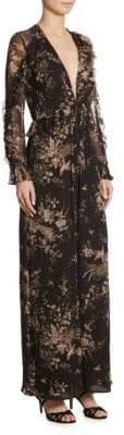 Zimmermann Feathery Silk Jumpsuit