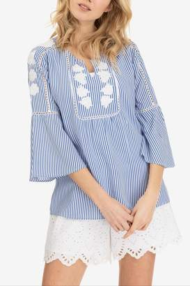 Tribal Ella Embroidered Blouse
