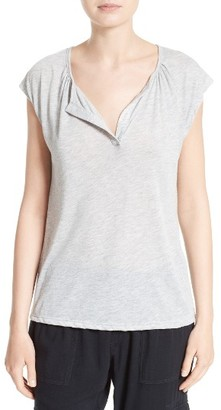 Women's Soft Joie Marinne Cotton Blend Tee $98 thestylecure.com