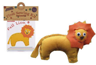 Your Own all things Brighton beautiful Make Lion Sewing Kit