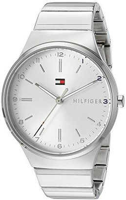 Tommy Hilfiger (トミー ヒルフィガー) - Tommy Hilfigerレディース' Sophisticated Sport ' Quartz and GoldステンレススチールCasual Watch , Color : silver-toned (モデル: 1781797 )