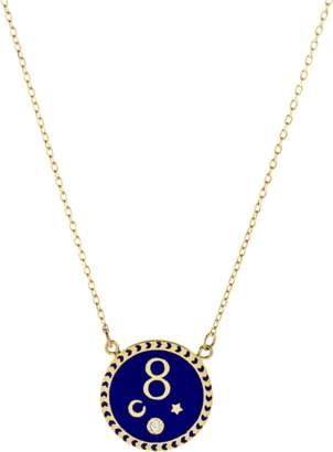 FOUNDRAE Karma Pendant Necklace